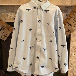 Gap Batman Dress Shirt